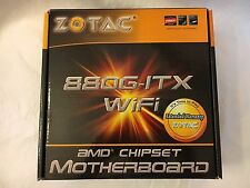 ZOTAC 880G-ITX WiFi, Socket AM3, AMD Mini ITX Motherboard - Excellent Condition!