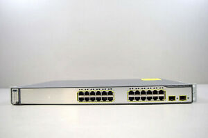 Cisco-WS-C3750-24PS-E-24-Ethernet-10-100-Ports-IEEE-802-3af-2-SFP-Ports-Switch