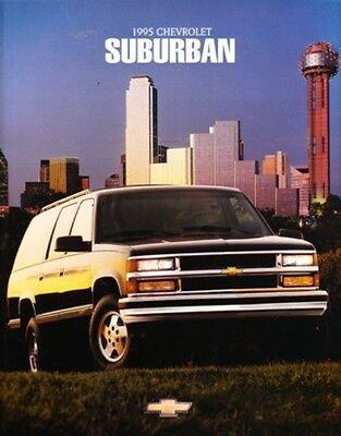 1995 Chevrolet Blazer SUV original Sales Brochure Sheet