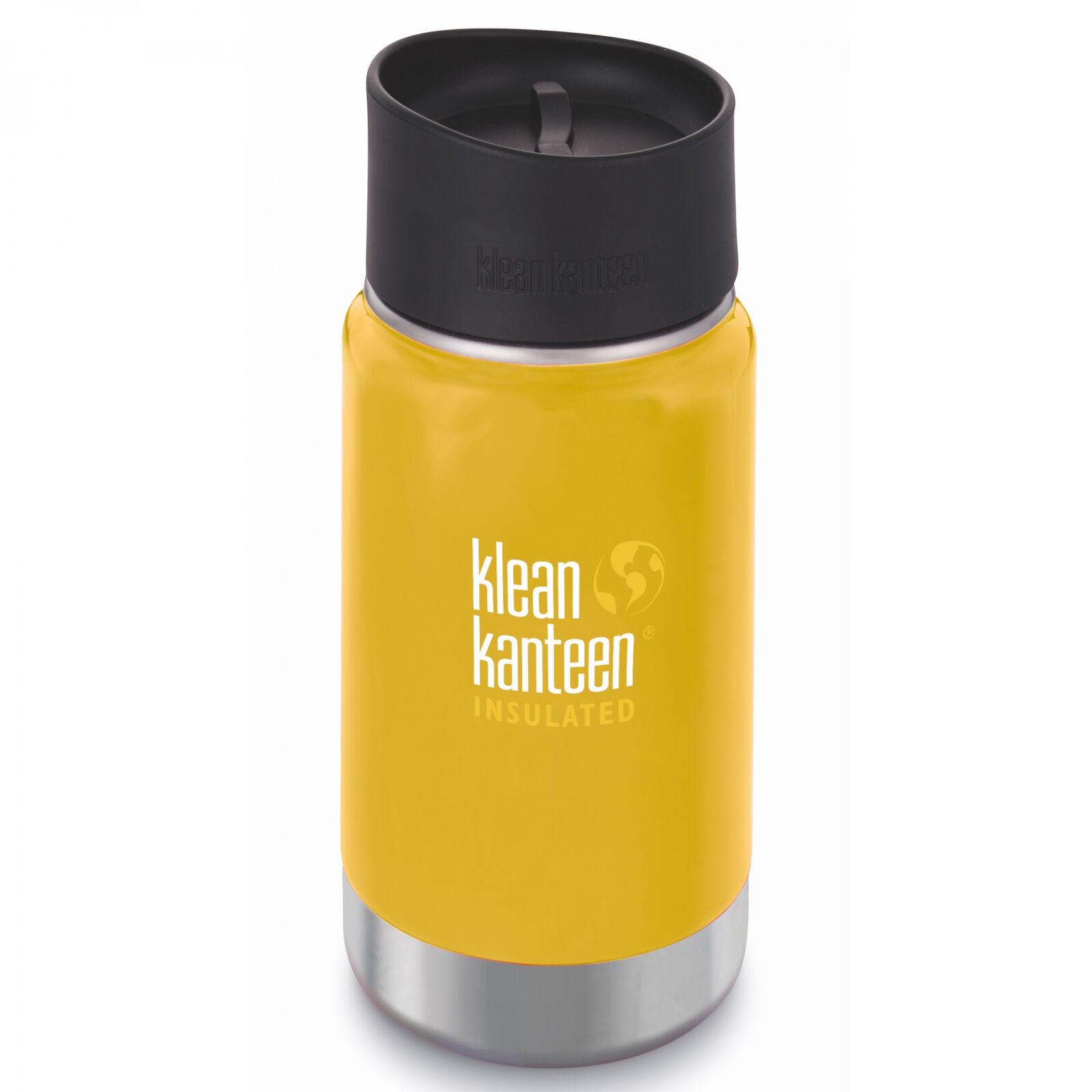 Klean Kanteen Wide Vacuum Insulated avec Café Cap 2.0 LC
