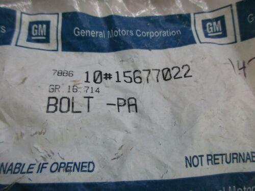 GM 15677022 SEAT BELT BOLT FACTORY OEM PART