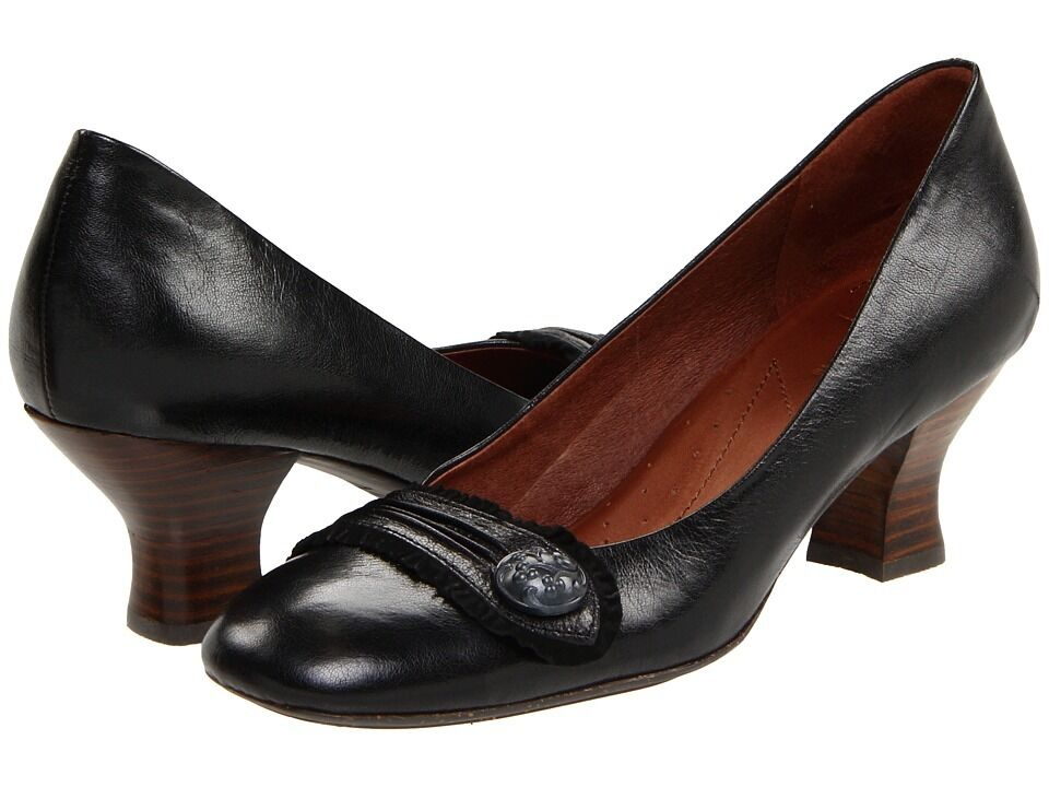 Naturalizer NAYA Women's DARIA Size 12 Medium Medium Medium shoes Black Leather d05d4f