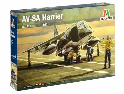 Italeri 1//72 Mcdonnell-Douglas Av-8a Harrier #1410
