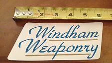 Windham Weaponry Firearms Company Logo Sticker Decal