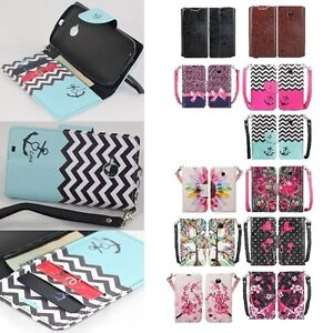 For Huawei Union Y538 Cell Phone Case Hybrid PU Leather Wallet Pouch Flip Cover