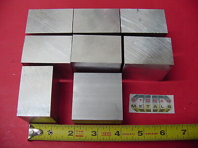 "4 Pieces 1-1//4/"" X 2/"" ALUMINUM 6061 FLAT BAR 8/"" long 1.25/"" Solid T6 Mill Stock"