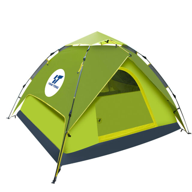 4-5 People Waterproof Automatic Outdoor Instant Pop Up Tent Camp Hiking Rainfly