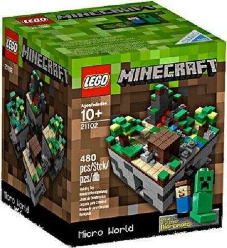 LEGO Minecraft Micro World 21102 - retired