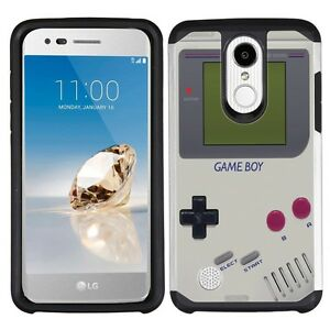 Details about for LG Aristo 2/3 Tribute Empire(Retro GameBoy)Silver  Hard/TPU phone case cover