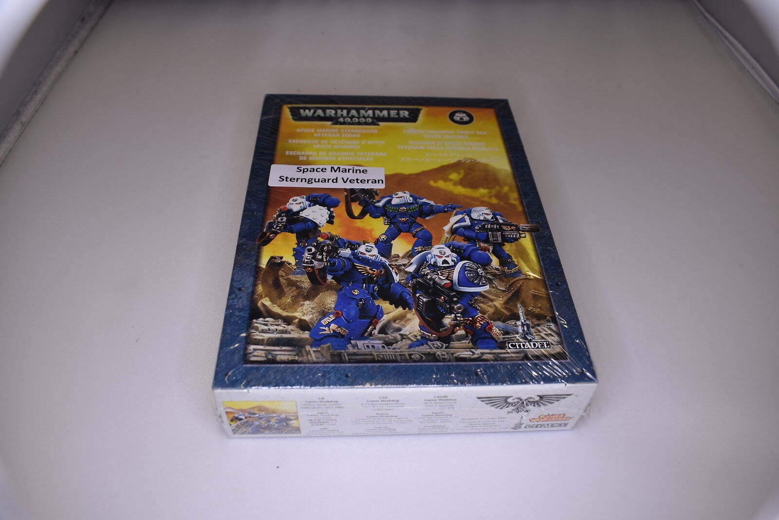 Space Marine Sternguard Veteran Squad OOP Metal Sealed (U-B5S3 198040)
