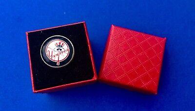 Geschickt Ny Yankees Pin-flagge New York Yanks Reversnadel Geschenk neu GroßEr Ausverkauf