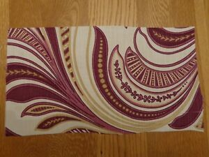 8-5-Metres-Ashley-Wilde-Zahira-Burgundy-Cotton-Fabric-56-034-Wide-Ref-254