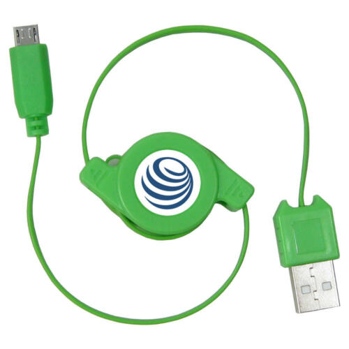 USB Cable Charger Extendable Retractable Cable for Nokia Lumia 1520 Bandit