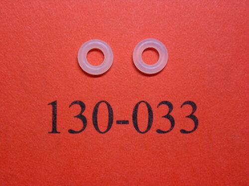 Part # 130-033 Urethane O-Ring Seals Two Crosman 2