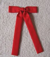 Colonel Tie Western Bow Tie Square Dance Red Clip-on Kentucky Colonel