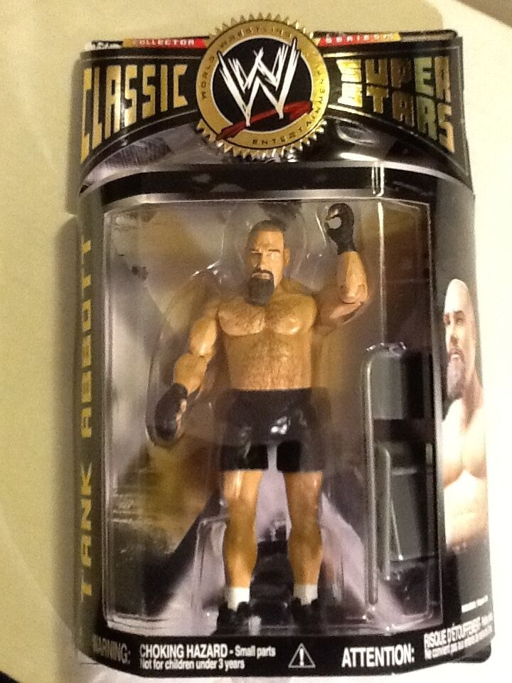 TANK ABBOTT WWE Jakks Classic Superstars 2007 Series 15 15 15 FREE SHIPPING faf153