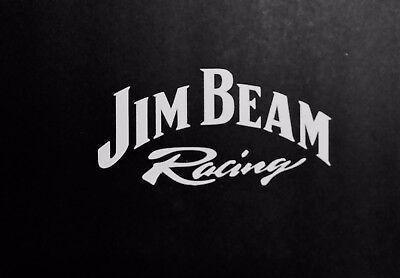 Jim Beam Racing Vinyl Decal for laptop windows wall car boat