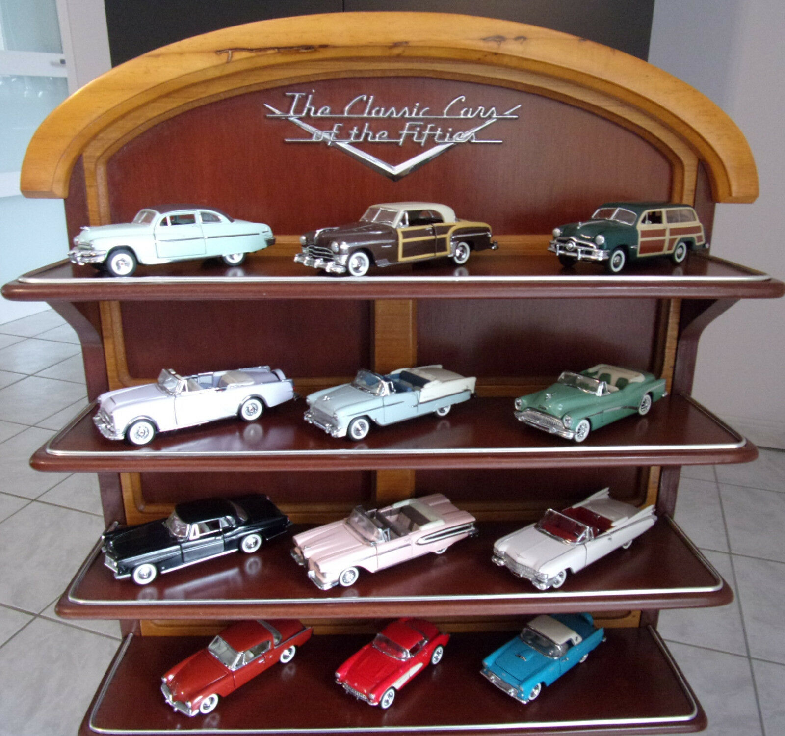 Lot of 12 Franklin mint The classic American cars of the fifties