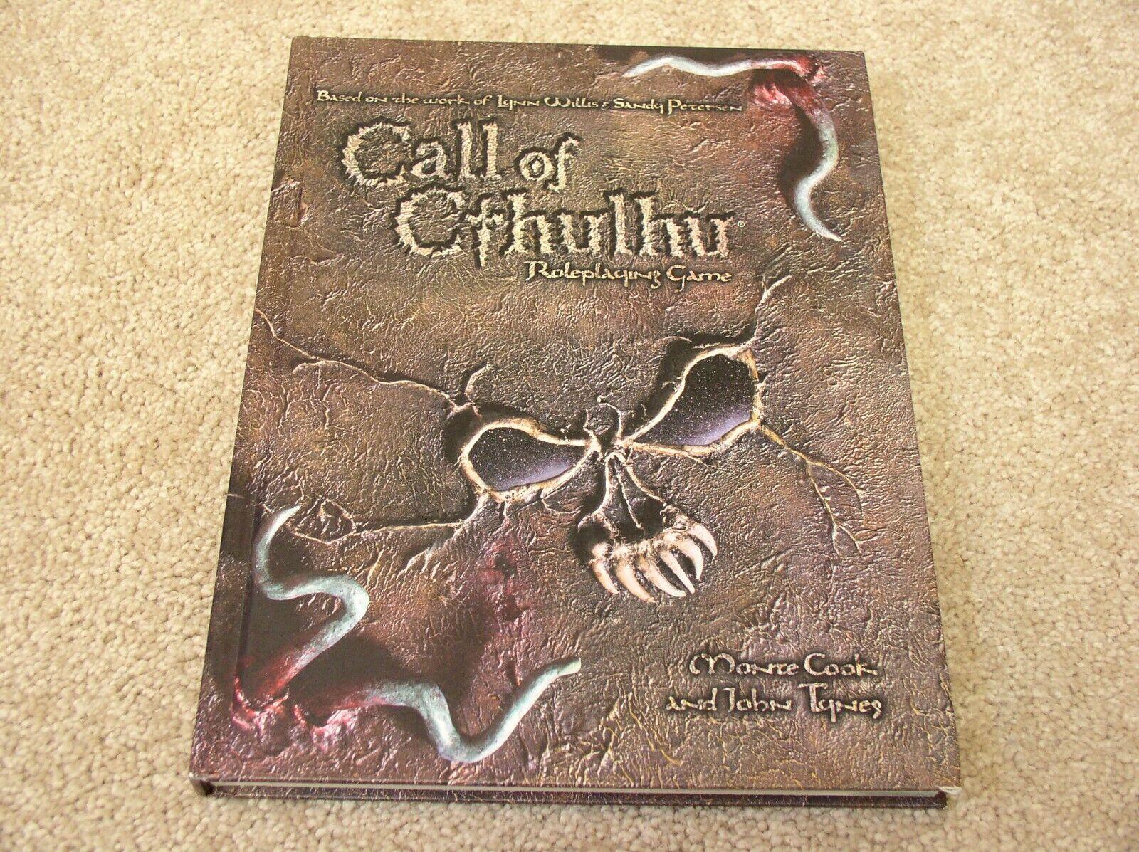 WOTC Ctutti  of Cthulhu d20 Roleplaying gioco hardcover rulelibro  spedizione gratuita in tutto il mondo