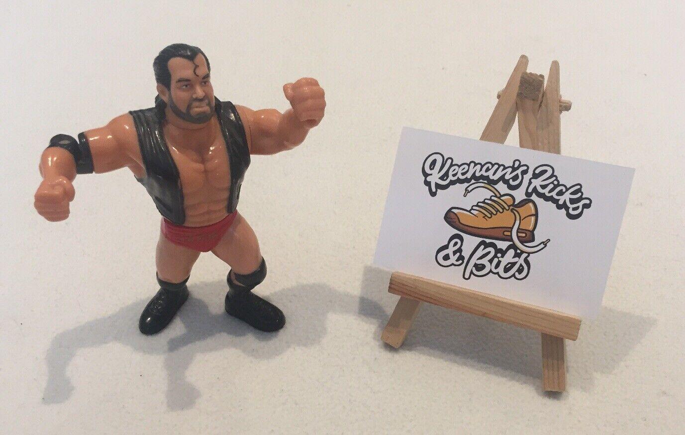 WWF Hasbro Razor Ramon WRESTLING Figura Nero Rosso ANNI'90 Lottatore SCOTT HALL WWE
