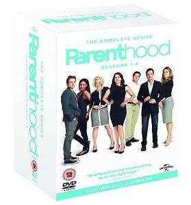 Parenthood-Complete-Series-Seasons-1-2-3-4-5-amp-6-1-6-DVD-Box-set-Region-4-NEW