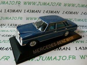 BAL63T-Voiture-1-43-IXO-Balkans-MERCEDES-BENZ-W115-bleu