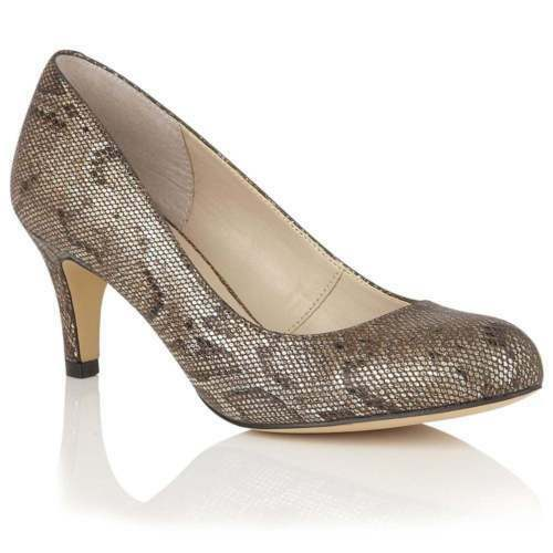 Lotus Court shoes  Colombina Womens Snake print Size 6