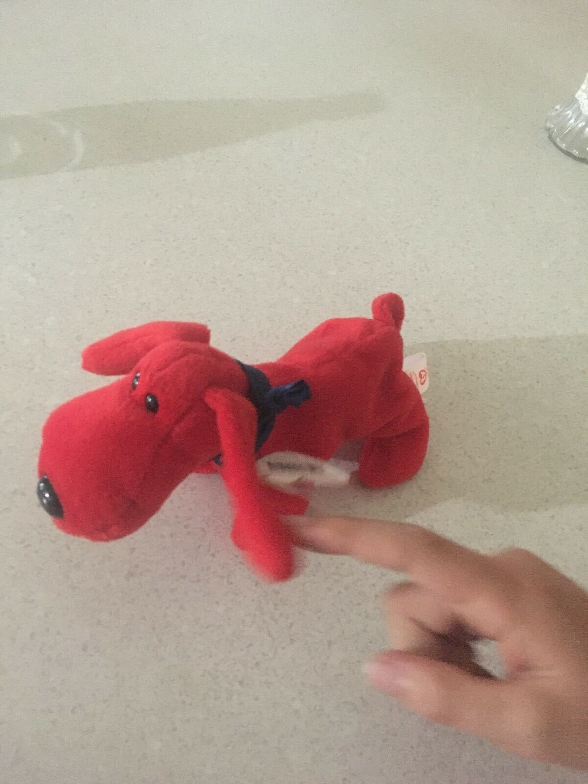 Ty Beanie Baby, Rover. Rare red dog with tag.
