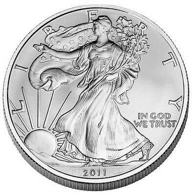 2011 Us Mint American Silver Eagle 1 Dollar Unc Coin Ebay