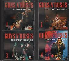 "GUNS N' ROSES - RARO SET 4 CD ITALY ONLY 1993 "" THE STORY VOLUME 2 """
