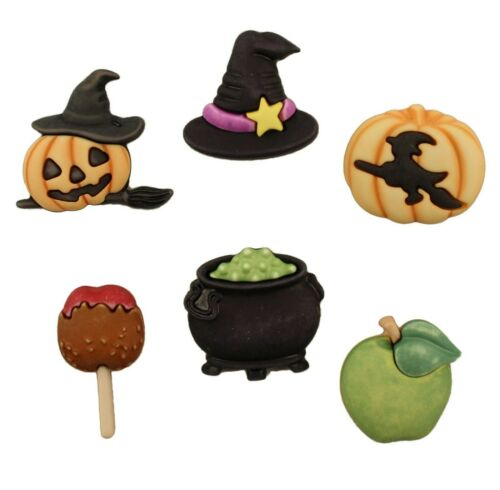 HALLOWEEN ~ Sewing ~ Craft Buttons Galore Buttons ~  THE WITCHING HOUR