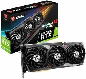 MSI GeForce RTX 3090 GAMING X TRIO 24G Graphics Board VD7347
