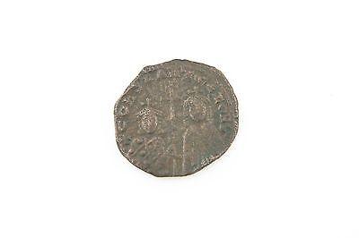 913-959 Ad Byzantinisch Münze Ae Follis Vf Konstantin Vii Zoe Sehr Guter Zustand Byzantinische Münzen Münzen Mittelalter