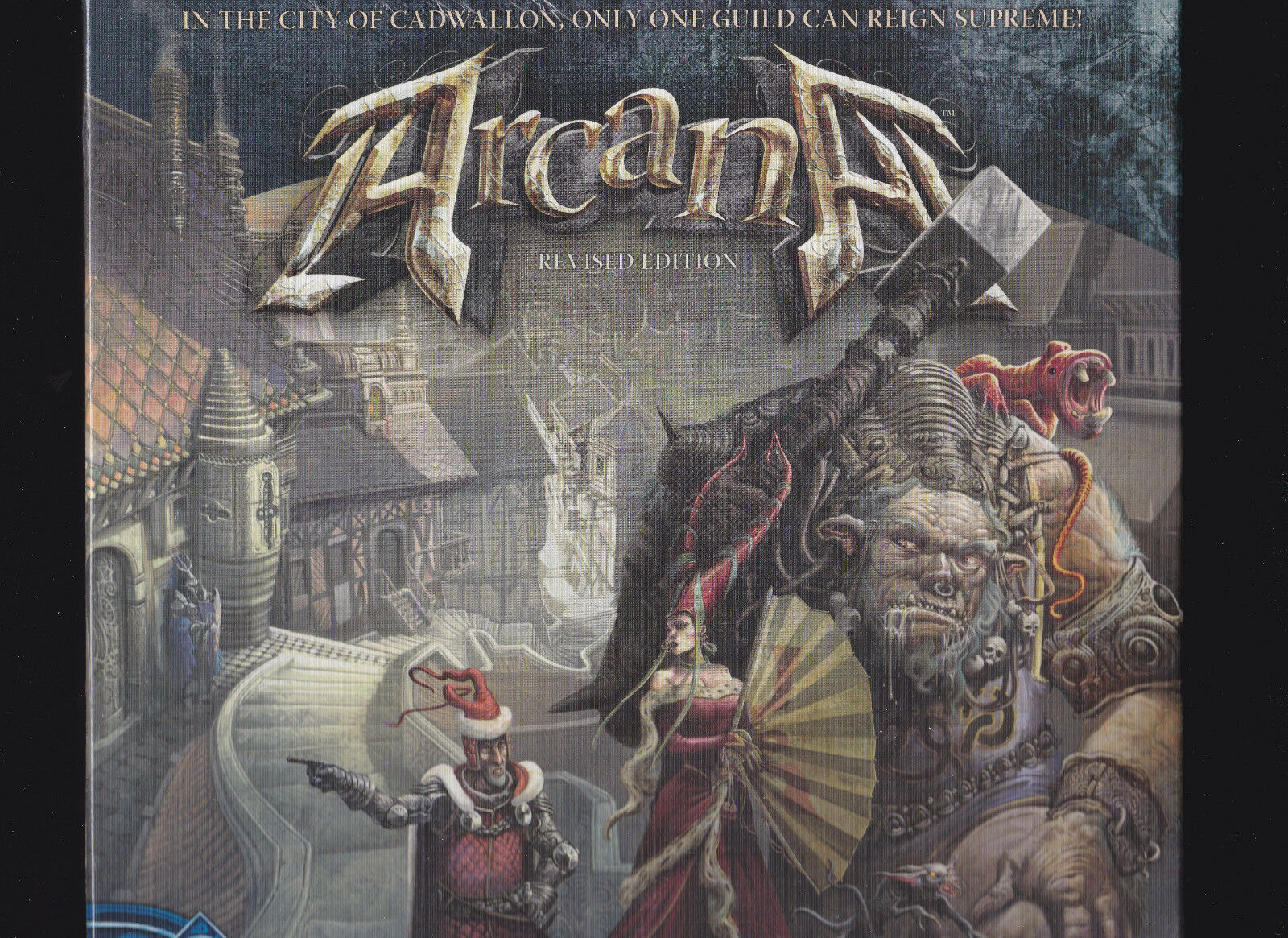Arcana Revised Edition - Fantasy Flight Games - Board Game New   NIB