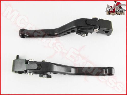 MC Short Adjustable CNC Brake Clutch Levers Honda CMX 500 300 Rebel 2017 Black
