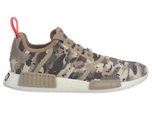 82f5b5c2d Adidas NMD R1 Camo Pack Mens G27915 Clear Brown Boost Running Shoes ...