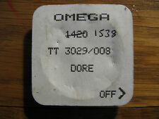 Brand New Omega Mens Seamaster 120m Gold Dial - Part TT3029/008 - Cal. 1420/1538