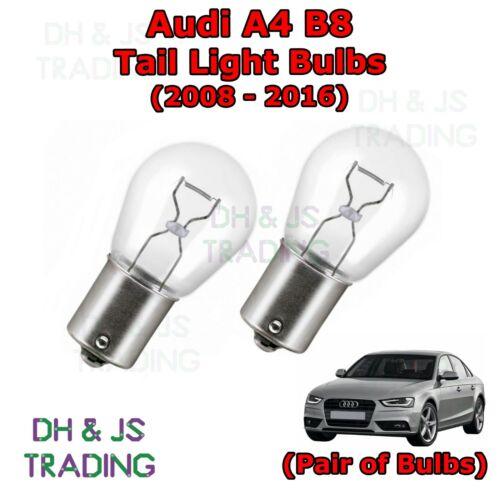 Rear Brake Lights Bulb 382 12v 21w Audi A4 B8 Tail Light Bulbs 08-16