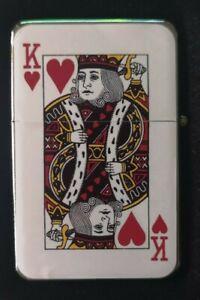 KING-OF-HEARTS-PLAYING-CARD-FLIP-METAL-PETROL-LIGHTER