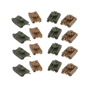 1-144-Scala-VI-Ausf-E-Tiger-I-V-Panther-Tank-Model-Kit-Toys-6-5x2-6x2-2cm
