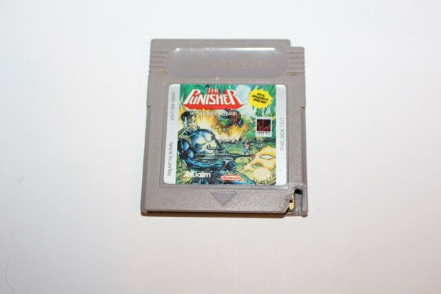 The Punisher (Nintendo Gameboy GB) Cart Only FAIR Game Boy