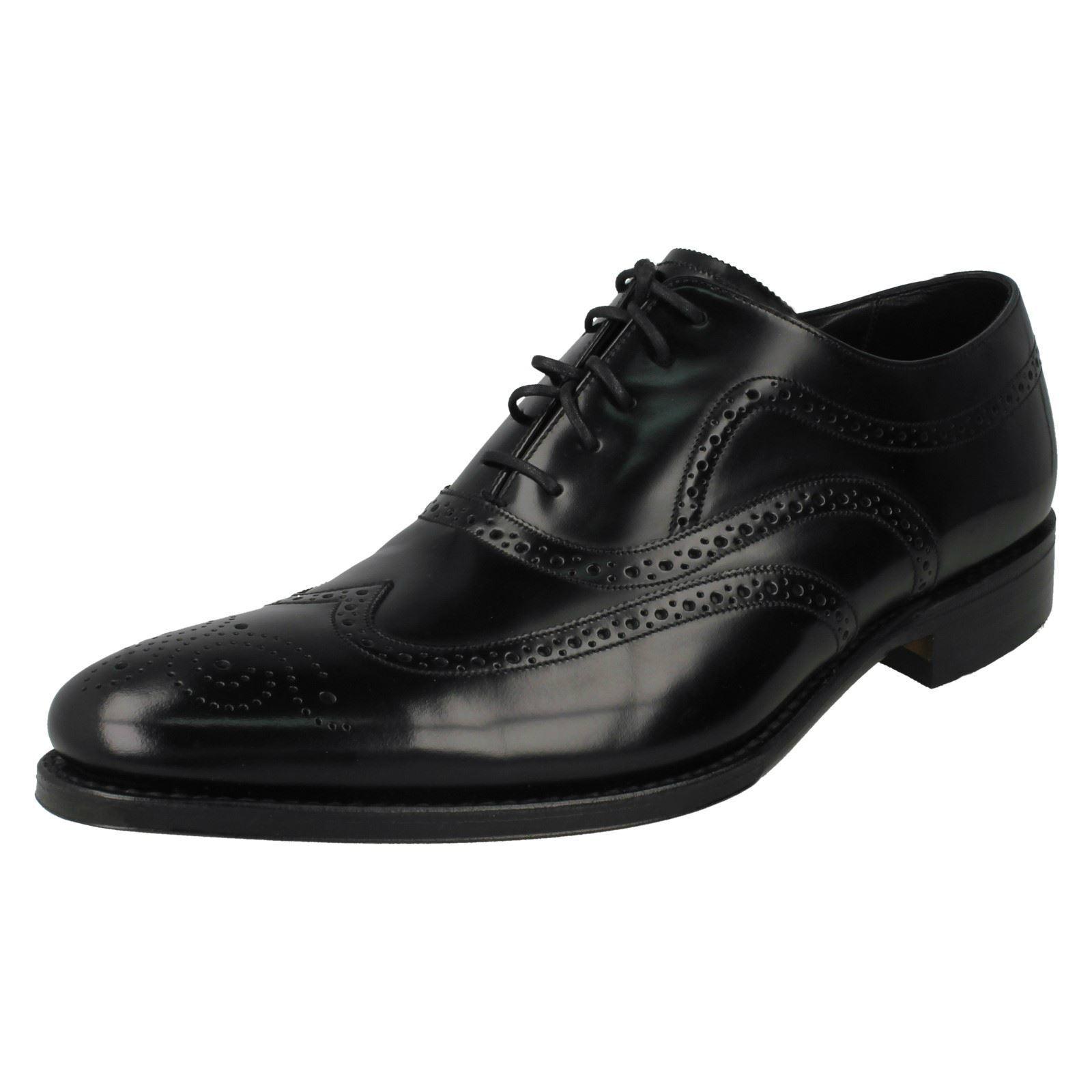 Herren Herren Herren Loake Lace Up Smart/Formal Polished Leder Narrow Fit Schuhes Jones e63ace