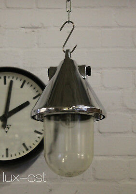 """1 Of 9 """"thale Ice Naked S"""" Industrie Lampe Bunker Industrial Light Fixture Loft"""