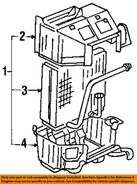 C Ac Evaporator Core Case
