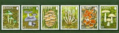 Jersey 2009 - Pilze - Hallimasch Täubling Saftling Mykologie - Nr. 1441-46 **mnh