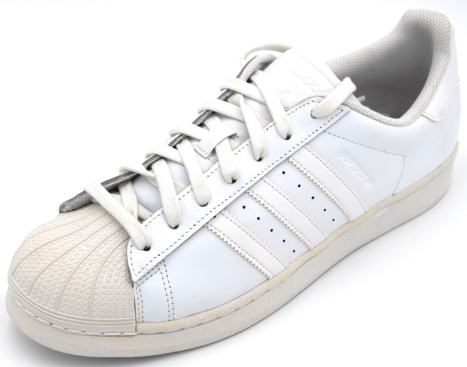 ADIDAS MAN SNEAKER SHOES CASUAL FREE TIME B27136 SUPERSTAR FOUNDATION DEFECT