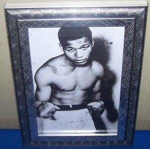 Sugar Ray Robinson signed photo print
