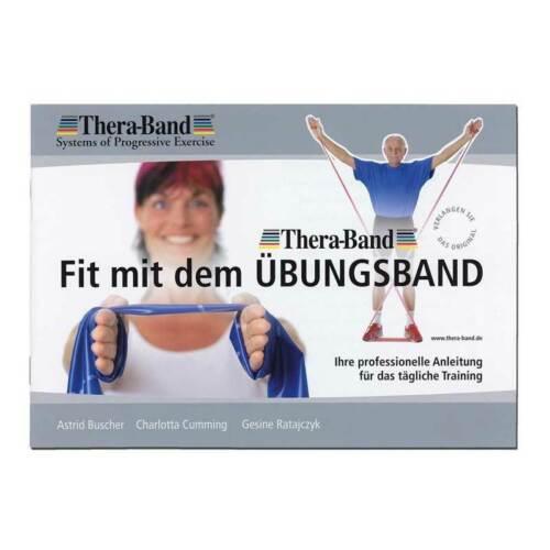 3m lang Rot Thera-Band® Übungsband mittel Übungsbuch gratis ca