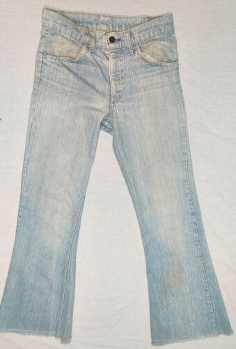 70s Vintage Levis Light Wash Bell Bottom Jeans Wom