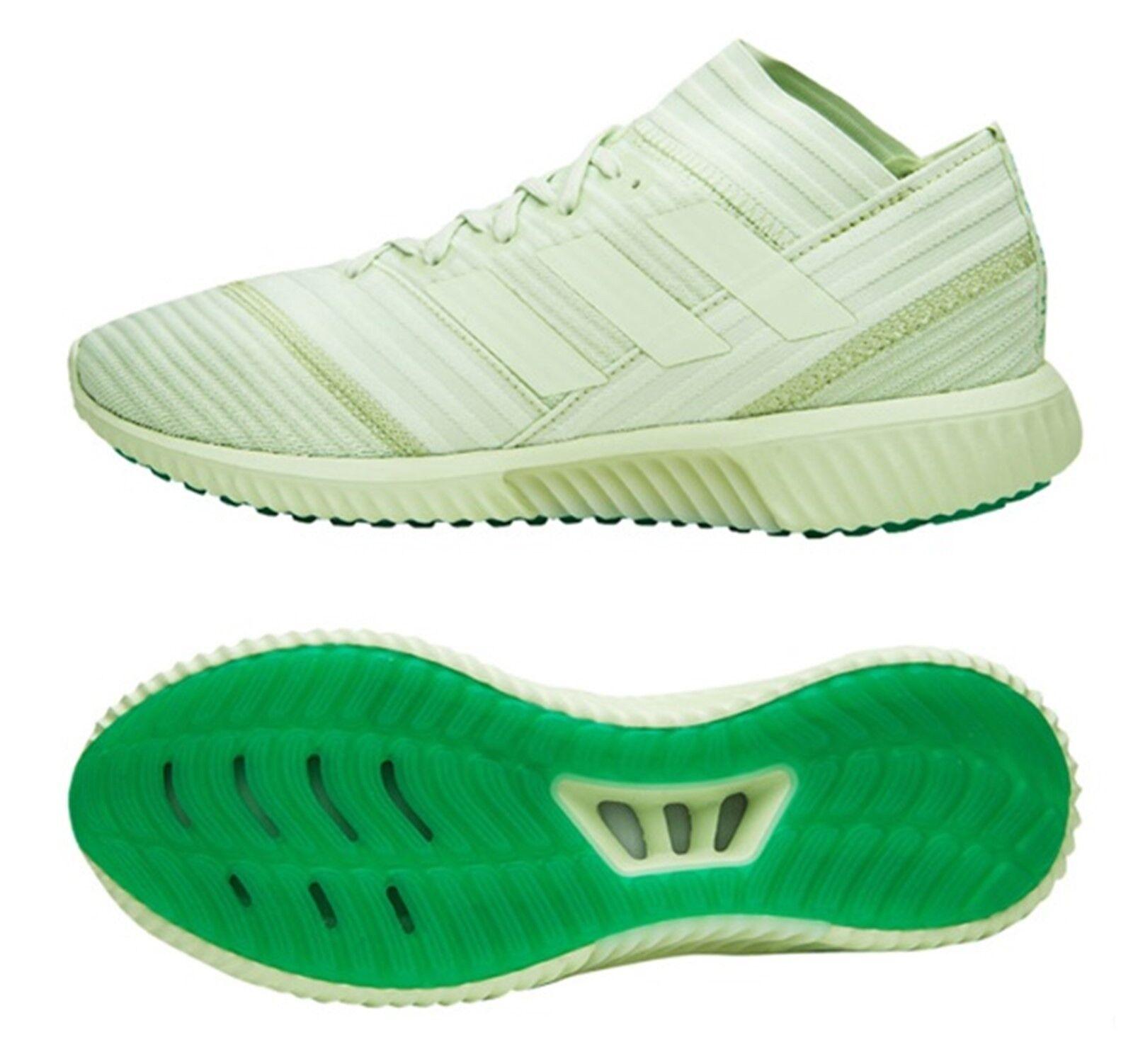 Adidas Hombres nemeziz Tango 17.1 TR Interior verde Zapatos deportivos de fútbol Zapatos bota de CP9117